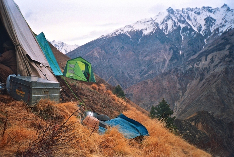 Camp Precarious ( on the way to bas camp)